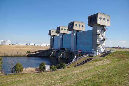 新岩淵水門