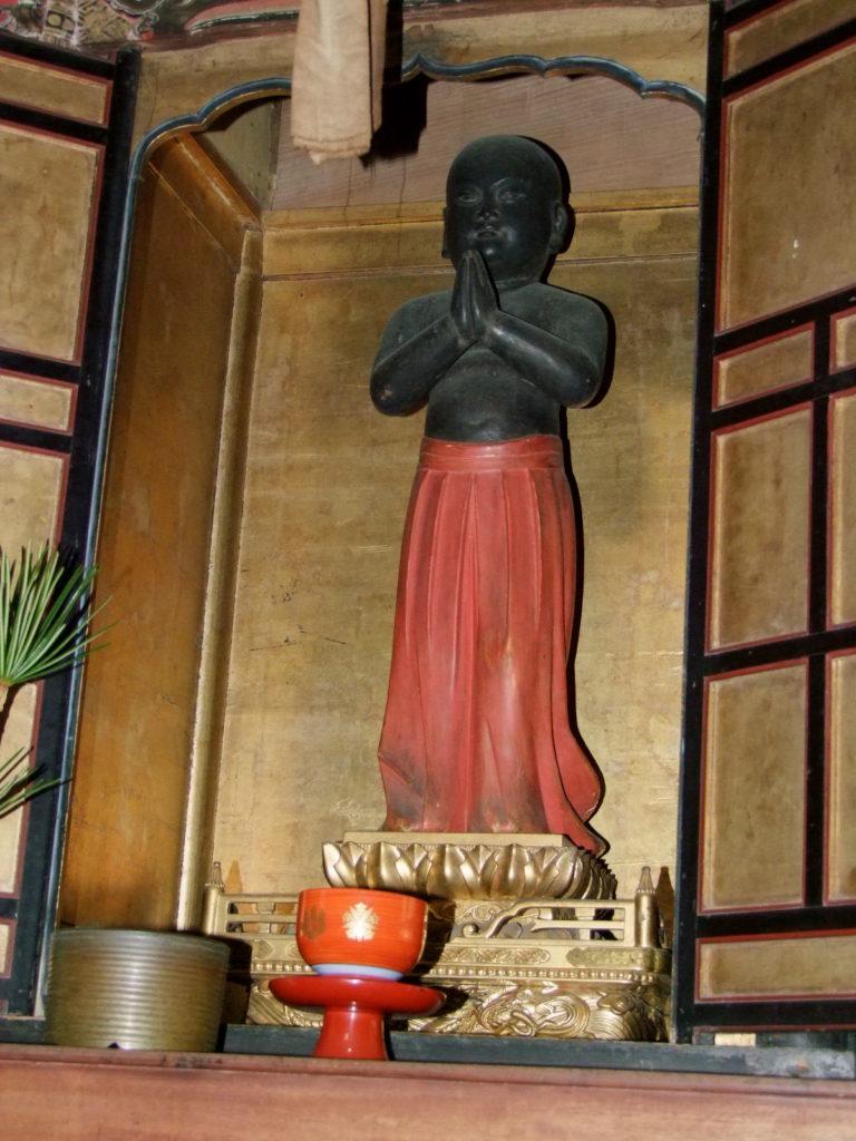 聖徳太子像。歴史の教科書から消えないことを祈る
