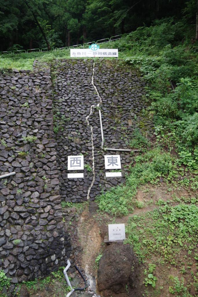 糸魚川~静岡構造線