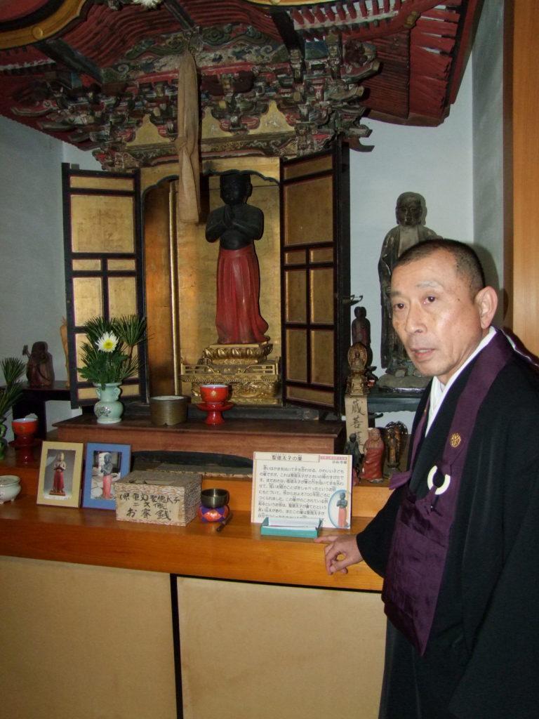 大らかな性格(と推測される)宗応寺のご住職