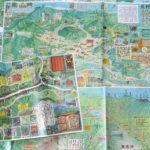 地図の楽しみ(前編)<br><em>  </em>旅先で出会った絵地図<br> <span style=